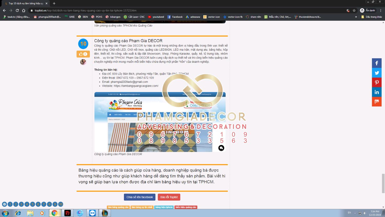 top 10 cong ty thi cong bang hieu